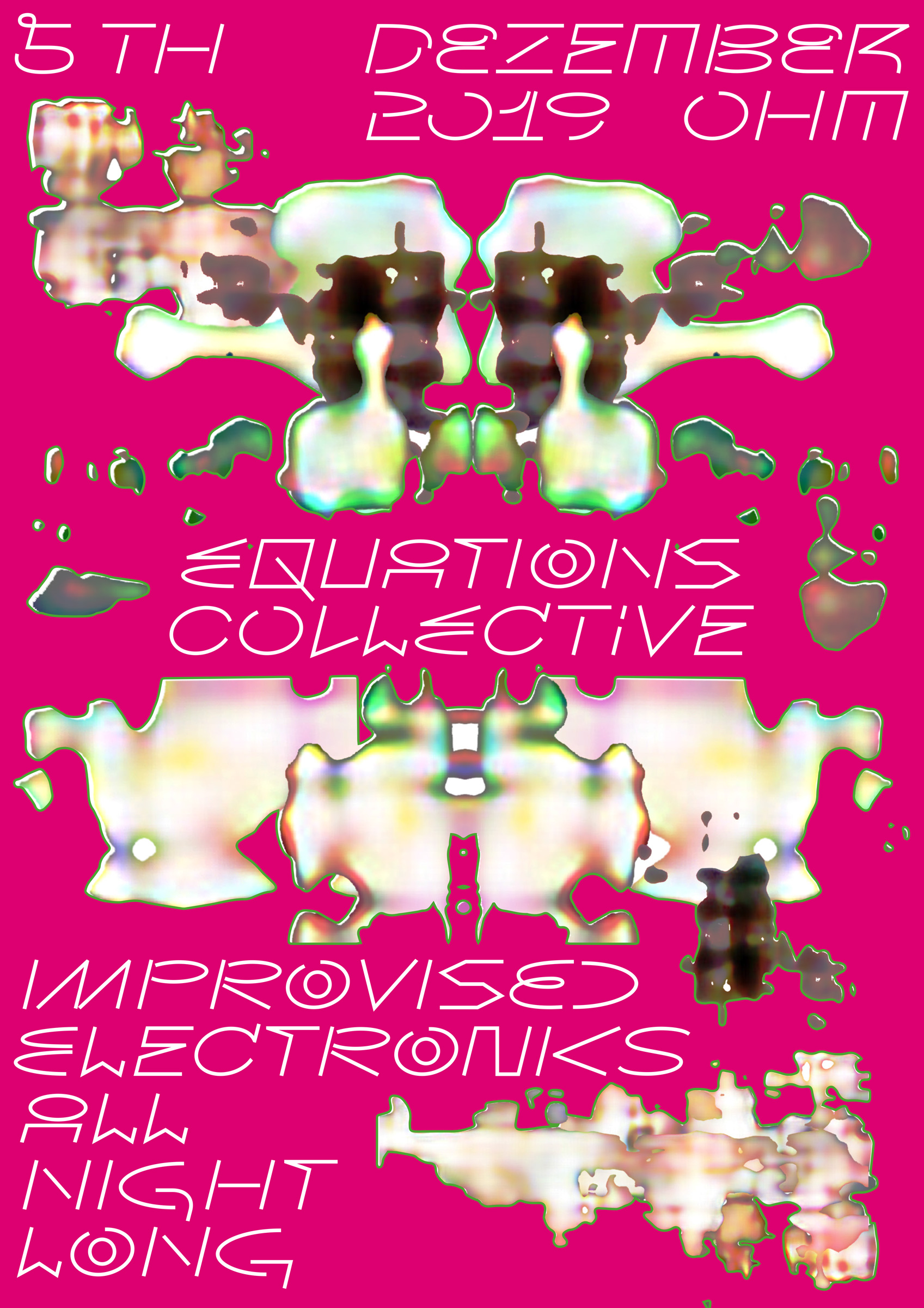 Equations - Improvised Electronics at OHM - 05.12.2019